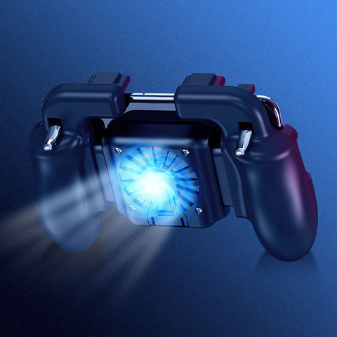 GamePad Pubg Controller Trigger Cooler Cooling Fire PUBG Mobile Game Controller Joystick Metal L1 R1 Trigger for IPhone Android Islamabad