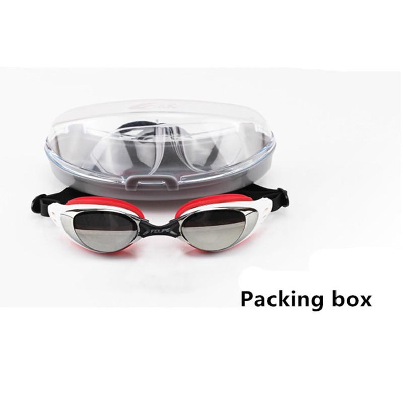 Anyfashion hombres mujeres protección uv antivaho gafas de natación profesional