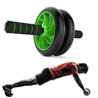 Fitness ab Roller Wheel Gym Body Building Equipment ABS Arm Stomach Abdominal Wheel Exercise Workout Strength Training Apparatus