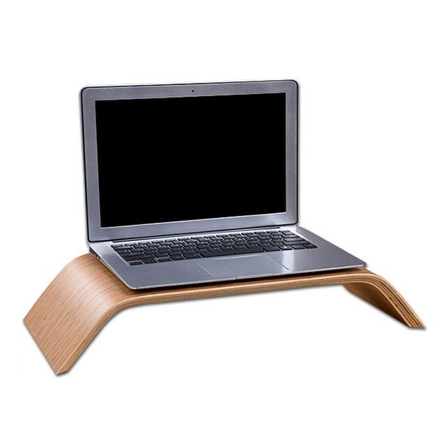 6245877a14aa8 Moda Lapdesks soporte de madera del muelle del para Apple MacBook air  Original Samdi ordenador portátil