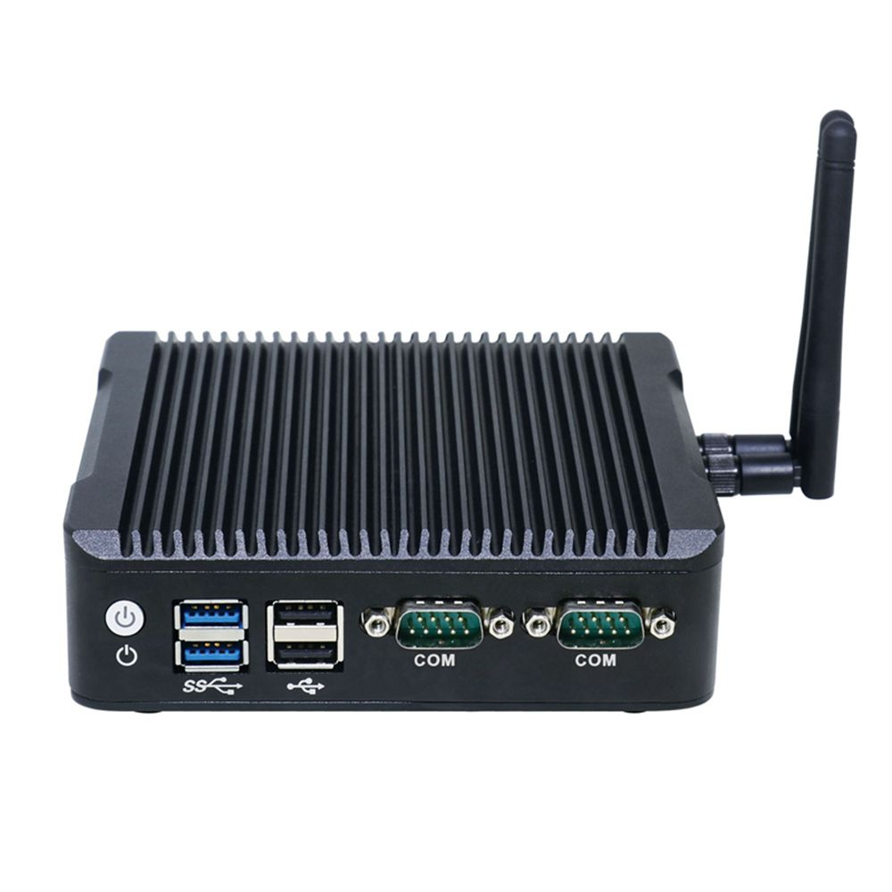 Dual LAN Mini Pc Windows Celeron N3160 Micro PC Palm Size TV Box Windows 2*HDMI 2.0 DP Port Barebone PC System Tiny Itx PC
