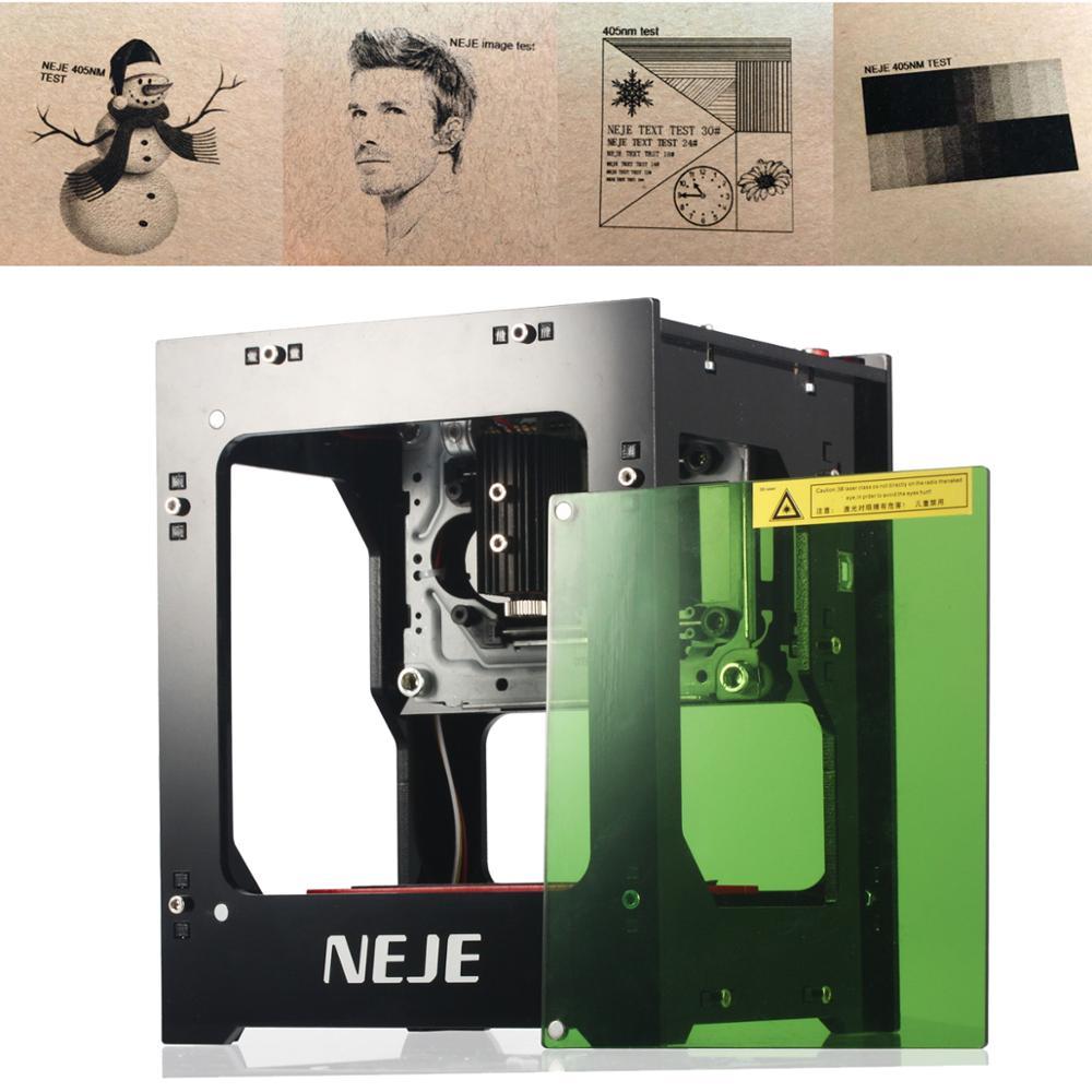 NEJE 1000mW Laser Engraving Machine 405nm AI Smart Support APP CNC Laser Engraver Cutting Mini Engraver Wood Router Machine