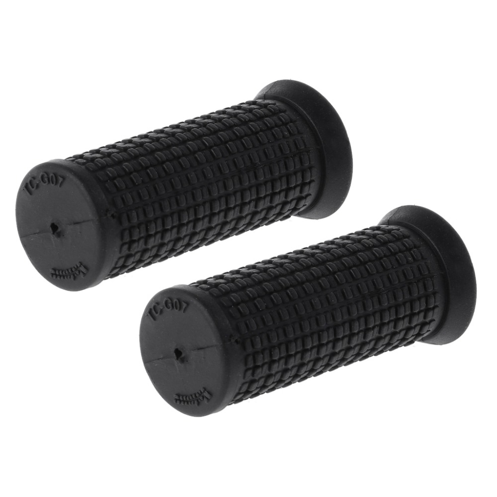 7CM 2pcs Bicycle Grips Short Handle Rubber Non Slip Cycling Scooter MTB Bike Parts