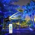 Luzes De Natal Levou Luz Laser Projetor Laser à prova d' água Jardim Luz Laser Para Casa Decorações Do Feriado