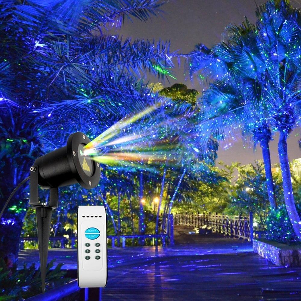 Wasserdichte laser weihnachtsbeleuchtung - Weihnachtsbeleuchtung garten ...