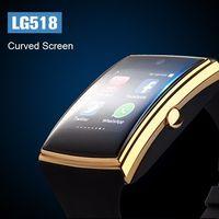 الجملة LG518 الصحية سطح دعم sim tf بطاقة بلوتوث الذكية مشاهدة 3d مراقبة للماء smartwatch ل ios الروبوت الهاتف