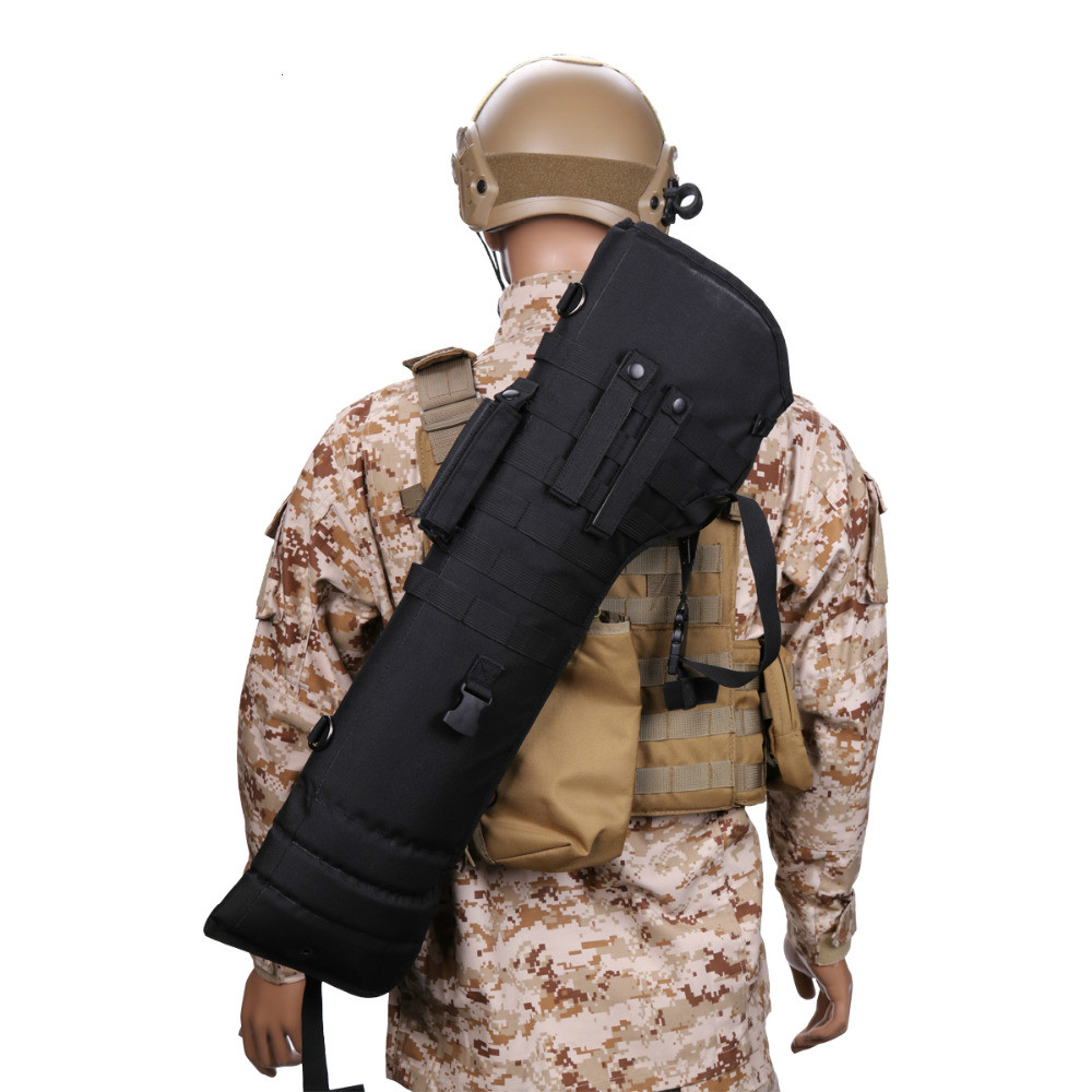Image 3 - Hot Selling Outdoor Military Hunting Backpack Tactical Shotgun Rifle Long Carry Bag Scabbard Gun Protection Case Backpack-in Hunting Gun Accessories from Sports & Entertainment
