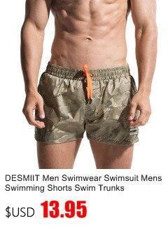 DESMIIT Swimwear Calções de Praia Homens Boardshort