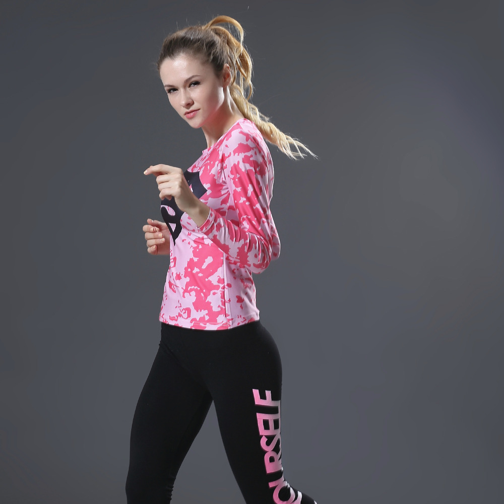 font b women s b font Barry Allen Compression Shirt Crossfit Long Sleeve T shirt