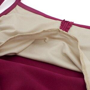 Image 5 - Sexy Open Back Mouwloos Hemdje Ballet Maillots Volwassen Meisjes Katoen Spandex Gymnastiek Turnpakje Ballerina Bodysuit