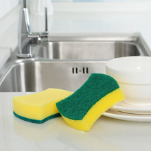 4pcs/pack Dishwashing Sponge Magic Eraser Kitchen Cleaning Sponges &High Density Emery