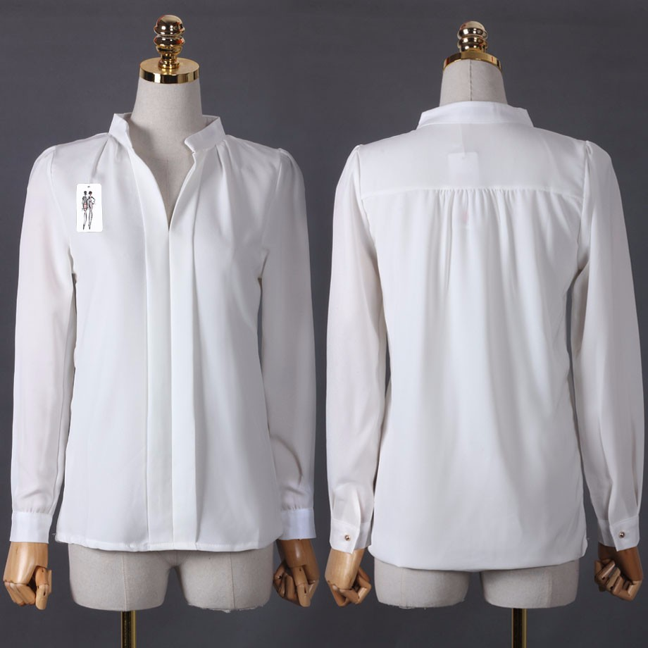 HTB1aMLdOXXXXXatapXXq6xXFXXXd - Long Sleeve Elegant Ladies Office Shirts Fashion Casual Slim Women
