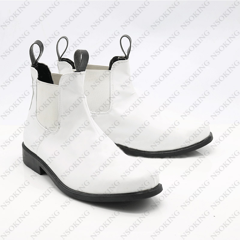 Star Wars 7 Cosplay Shoes Anime white soldier stormtrooper Boots