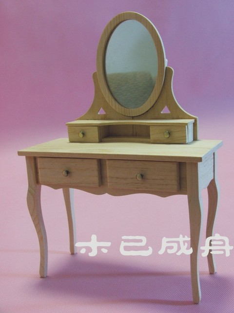1:6 BJD Doll house furniture miniaturas - doll dresser diy products