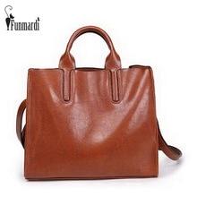Nueva llegada de Gran capacidad de cuero de LA PU bolso de las mujeres de Cera de Moda los bolsos de las mujeres Marca de diseño de hombro de Lujo bolsos de totalizadores WLHB1509