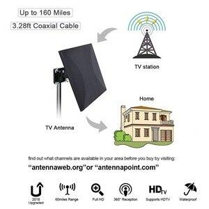 Image 3 - Satxtrem antena zewnętrzna TV TDT DVB T2 HDTV cyfrowa antena telewizyjna kryty DVBT2 wzmacniacz antenowy wzmacniacz sygnału HD DVB T2 VHF/UHF