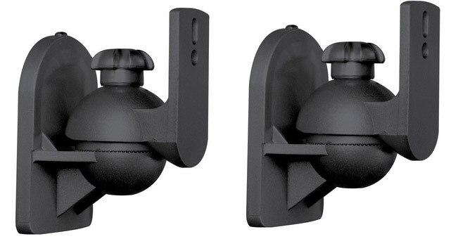 (1 paire) avec plaque en acier 3.5 kg 7.7lbs universal tilt rotation son HAUT-PARLEUR SUPPORT support mural avec bouton