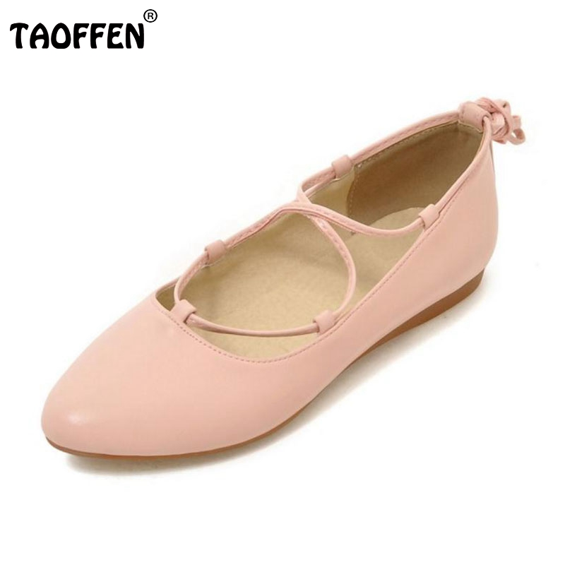 Size 33-43 Ladies New Fashion Flats Women Cross Strap Shoes Soft Slip-On Sexy Pointed Toe Flats Low Heels Leisure Escarpin lady glitter high fashion designer brand bow soft flock plus size 43 leisure pointed toe flats square heels single shoes slip on