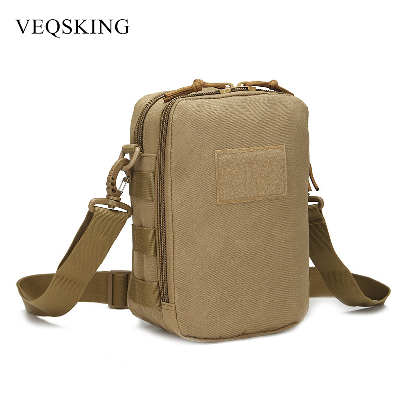 800D Oxford Military Tactical Shoulder Bag,Outdoor Sports Bag Camping Hiking Trekking Molle Crossbody Bag 4 Colors