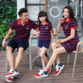 Family Matching Outfit Striped Family Clothing Mother and Daughter Father Son Clothes Fashion Clothing TL03