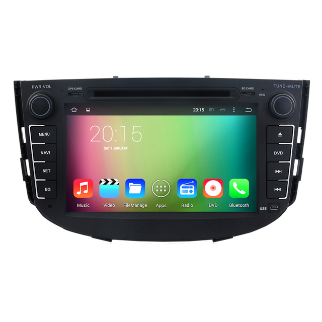 HD 1024X600 Car DVD GPS Radio for Lifan X60 2011 2012 Quad Core 1.6G Android 5.1.1 2GB ROM 16GB Flash 3G WIFI Stereo system