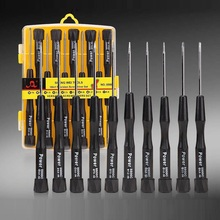 10pcs In 1 Precision Screwdriver Professional Repair Phone Tools Watch Computer Glasses Camera Maintenance
