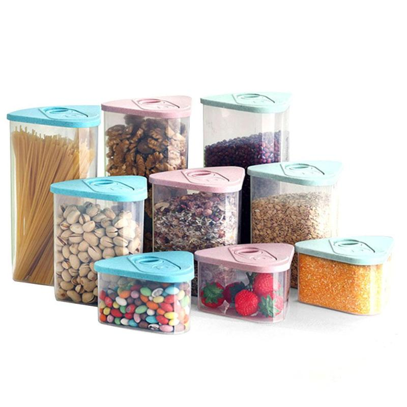 kitchen storage boxes 1pc food storage tank rice container kitchen box 3126