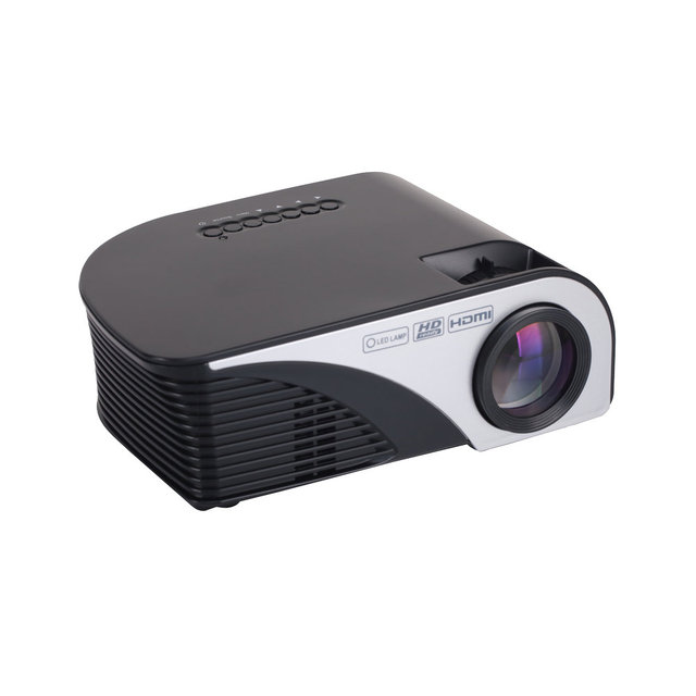RD-805 Upgrade RD-805B 1200Lumen Mini Projector Proyector Beamer For Video Game TV Home Theatre 3D Movie With HDMI VGA AV SD USB