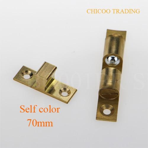 SOURCING MAP Meubles de porte de placard en acier inoxydable /à Double loquet A Rouleau 6 pi/èces