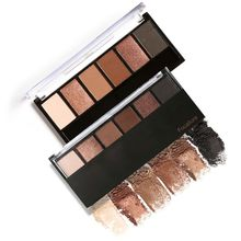 Women Professional 6 Colors Eyeshadow Palette Smokey Eye Shadow Shimmer Colors Makeup Kit