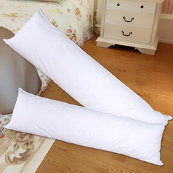 Long Pillow Inner White Body Cushion Pad Anime Rectangle Sleep Nap Pillow Home Bedroom Bedding Accessories 150 x 50CM
