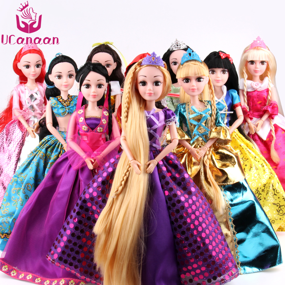 Abbie Doll 10 Different Models to Chose Cinderella Rapunzel Mermaid Snow White Beauty Princess Best Friend Play with Chirldren disney princess brass key 2003 holiday collection porcelain doll snow white