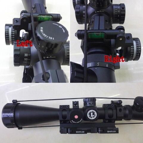 melhor rifle bolha nivel scope angulo indicador