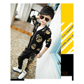 Toddler boy Clothing Sets Harlan Leisure Tracksuit Boy Autumn Fashion Ensemble Garcon Cute Cotton Toddler boy Clothing Sets