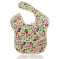 10 Pack Baby Bibs Waterproof Unicorn Newborn Clothes 2018 Brand Babador Bandana Baby Burp Cloths with Pocket Baby Girl Clothes