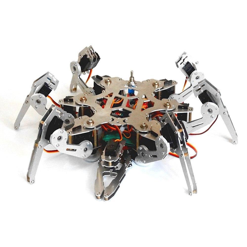 Arduino Programmierung Bionic Spinnen-roboter-diy 6 Füße Roboter Große Drehmoment Servo mit Ps2...