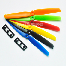ZMR 4Pair/lot 6030 2-Blade CW/CCW Propeller orange red blue black yellow Props for UAV Drone rc airplane