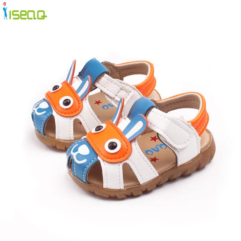 Nouveauté été bébé garçons sandales mignon bambins enfants semelle souple chaussure enfant en bas âge bébé chaussures enfants bambin sandales 6-36 mois