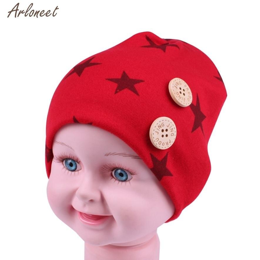 2017 baby beanie cute newborn toddler beanie baby hat cotton keep warm cap baby hat winter dec21