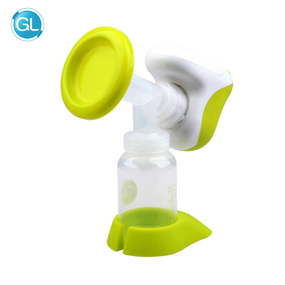 Brand GL Portable Automatic Electric Breast Pump BPA Free Compact One-piece Design Breast Feeding Milk Suction Pump Baby Feeding