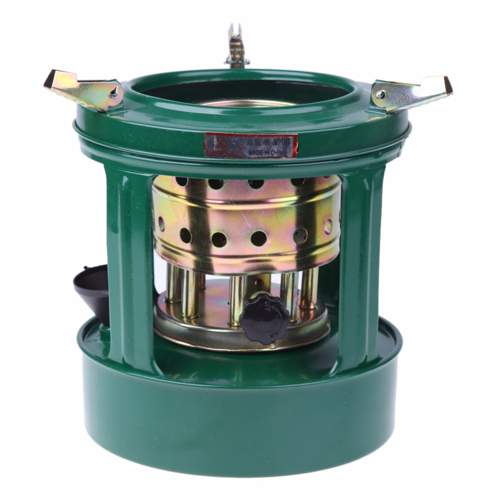 Portable outdoor kerosene stove removable 8 burning holes for Outdoor wood cooking stove
