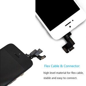 Image 5 - מלא עצרת LCD מסך עבור iPhone SE מגע מסך תצוגת Digitizer עבור iPhone SE שלם החלפת מסך + כפתור הבית