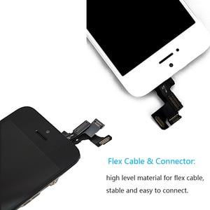 Image 5 - フルアセンブリ iphone SE タッチスクリーンディスプレイデジタイザ iPhone SE スクリーン交換完全 + ホームボタン