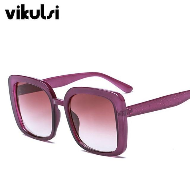 2018 Square Women's Sunglasses Fashion Sunglasses Luxury Brand Glasses Designer Shades Sun Glasses Women Men female oculos UV400 3
