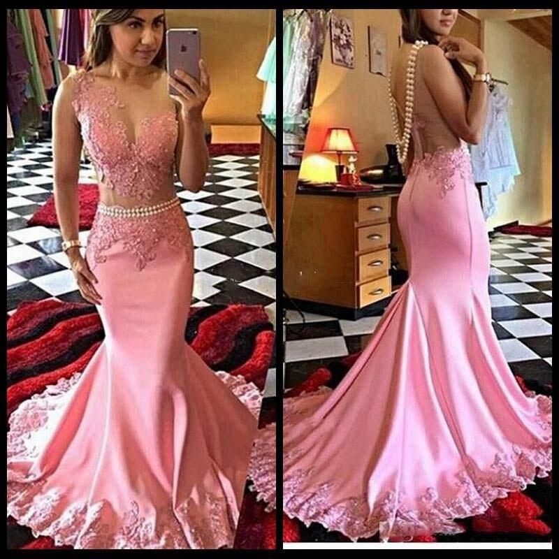 Lujo Vestido Rosa Sirena Del Baile Foto - Ideas de Estilos de ...