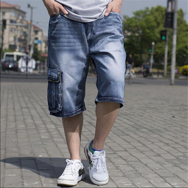 Aliexpress.com : Buy 2016 New summer short jeans man pocket loose ...