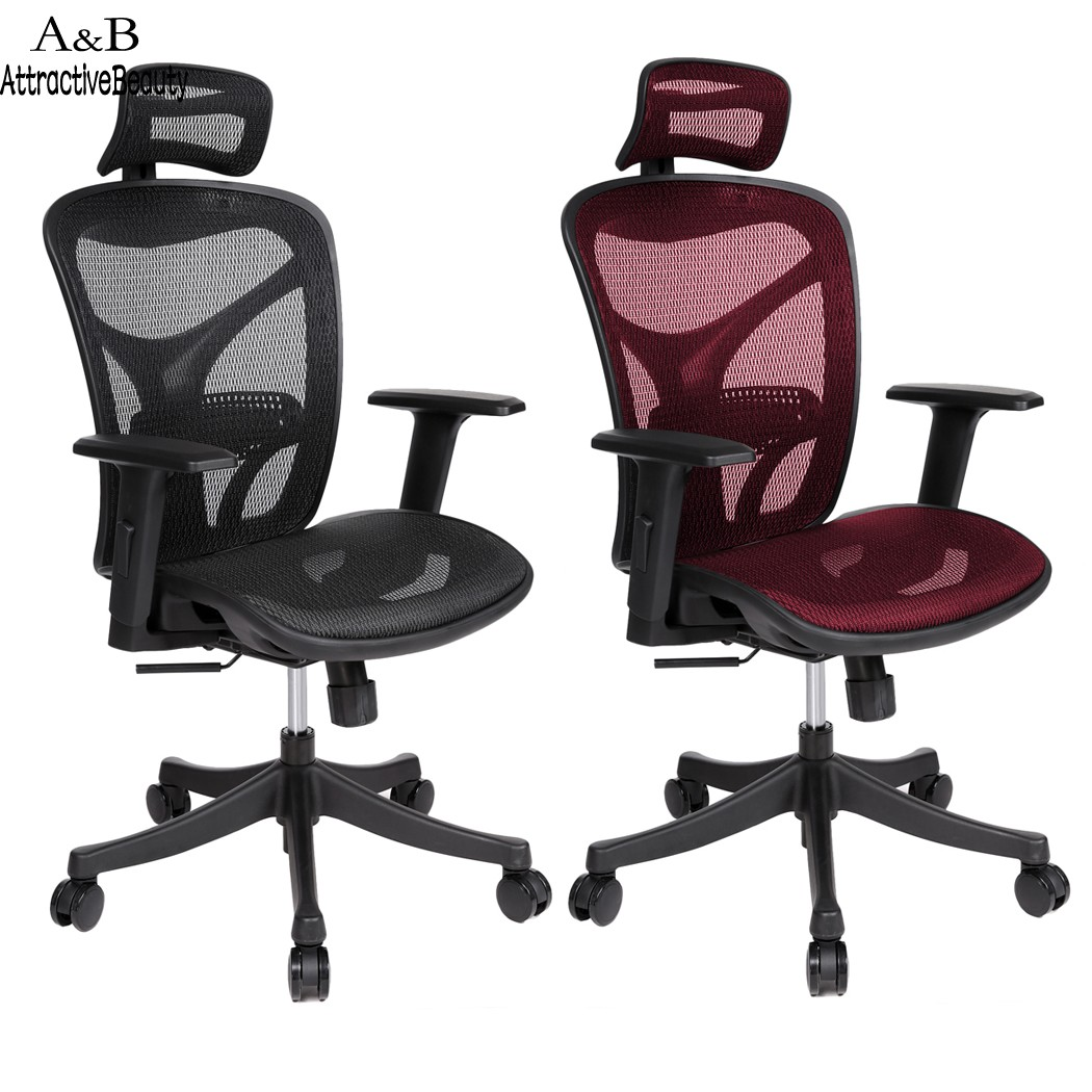 Ancheer Adjustable High Mesh Executive Office Chair Ergonomic Chair Lift Swivel Chair #3020 ergonomic executive office chair mesh computer chair high elastic cushion bureaustoel ergonomisch sedie ufficio cadeira