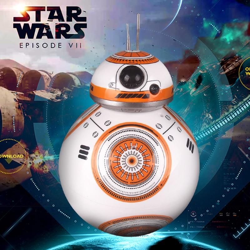 цена на Free shipping BB - 8 intelligent Remote Control Robot awakening the force ball toy Robot Christmas present for kids boys girls