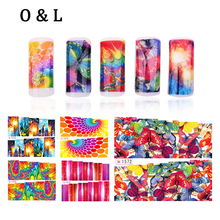 Water Transfer Nail Art Stickers,12pcs Fashion Geometrical Design Nail Tips Decorations,DIY Nail Beauty Decals