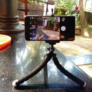 Image 3 - Rovtop Octopus Mini Statief Beugel Draagbare Flexibele Smartphone Clip Houder Camera Stent Smartphone Statieven Opvouwbare Desktop